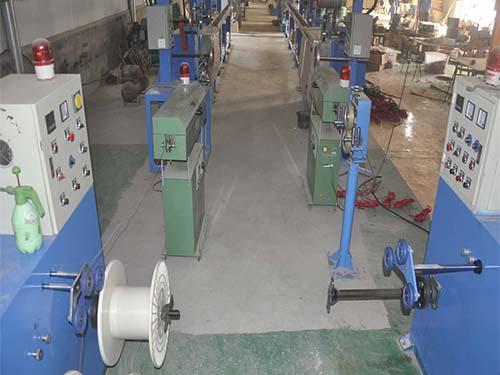 发热电缆生产设备
